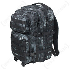 MANDRA Night Camo MOLLE RUCKSACK Assault Large Bag 36L BACKPACK Tactical Pack