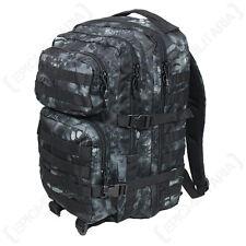 Mandra nuit camo molle sac à dos assault grand sac sac à dos tactique pack 36l
