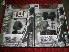 SET OF 2 MEDAL OF HONOR  ALL TERRAIN VEHICLE AND TECHNICAL TRUCK REMOTE CONTROL