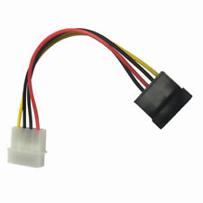 Molex/IP4/4-pin to SATA Power 15-pin Connector Converter Adapter Cable