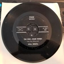 Funn 1001 The Free-DumbRiders Novelty 45rpm Boll Weevil