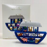 Hallmark Keepsake Ornament Noah's Ark 2010