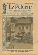 WWI Carrière de Pierre l'Oise Poilus Statue de Jeanne d'Arc 1917 ILLUSTRATION