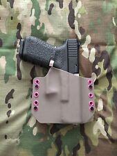 Gray & Hot Pink Kydex Holster for Glock 19 GEN5