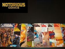 Heroes in Crisis 1-9 Complete Comic Lot Run Set DC Tom King Collection