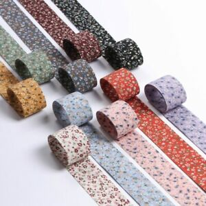5yards floral chiffon Ribbon for DIY headwear material clothing Trims Accessorie