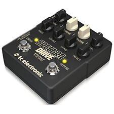 TC Electronic SPECTRADRIVE Bass Preamp Spectra-Drive Pedal TubeDrive+TonePrints