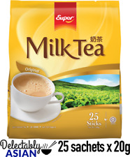SUPER Milk Tea 3-in-1 Instant Tea Mix ORIGINAL (25 sachets x 20g)