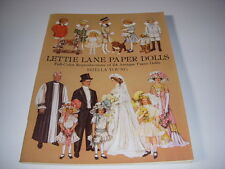 Lettie Lane Antique Paper Dolls Reproductions, Dover Pub., 1981, New, Uncut!