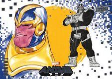 THANOS / Marvel Anime 2020 (Upper Deck) BASE Card #36 Art by PEACH MOMOKO