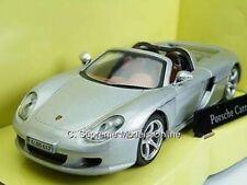 PORSCHE CARERRA GT CAR SILVER MODEL 1/43RD SCALE SPORTS OPEN TOP TYPE Y0675J^**^