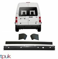 FORD TRANSIT CONNECT REAR BUMPER + TRIM + END CAPS WITH PARKING SENSORS HOLES