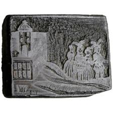 RARE Printing Plate Hand-Engraved & Signed by Isaiah Thomas - Colonial Printer