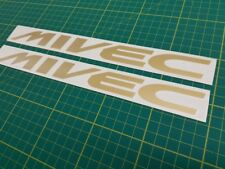 Mitsubishi MIVEC FTO Lancero Colt Espejismo Calcomanías Pegatinas de reemplazo de cualquier color
