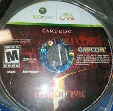 Resident Evil 5 Xbox 360 DISC ONLY