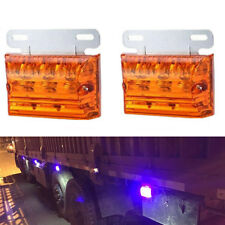 20 LED Marker Indicator Light Clearance Lamp Amber Truck Trailer Boat Top Sale
