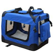 Transportín Perro para reisebox Auto GATOS Caja L Azul