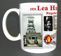 LEA HALL COLLIERY COAL MINE MUG. LIMITED EDITION GREAT GIFT MINERS STAFFORDSHIRE