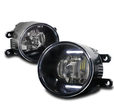 CHROME LED BUMPER FOG LIGHTS FOR TOYOTA XA AVALON 4RUNNER VENZA LX570 GS350 RAV4