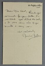 c1940s | Monica Dickens | ALS signed letter | the great-granddaughter of charles