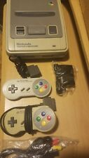 NINTENDO SNES Super Famicom Bundle 2Controllers NewA/V&PWR SUPPLY CLEANED TESTED