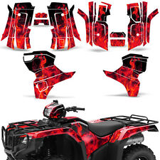 Graphic Kit Honda Foreman 500 ATV Quad Decals Stickers Wrap 2015 2016 ICE RED