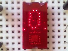 x1 TIL311 HEXADECIMAL LED Display With LOGIC, 100% TESTED