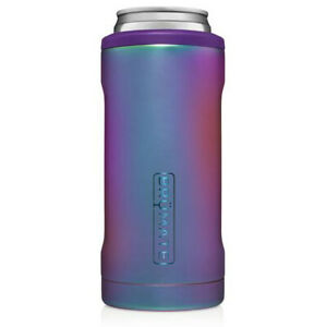 BruMate Hopsulator 12oz SLIM Can Cooler Koozie Coozie Holder Dark Aura Limited
