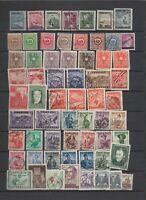 300 timbres Autriche à partir de 1945 + un bloc feullet de 1968 taxes et journau