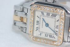 Womens Cartier Panther 18K Gold - Diamond