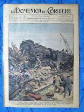 La Domenica del Corriere 7 gennaio 1934 Parigi - Val d'Aosta - V. de Paoli