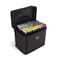 Markers 30 40 Color Art Drawing Twin Tips New Copic Style alcohol marker pen NEW
