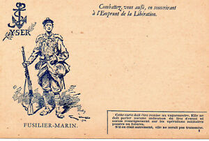 carte de correspondance militaire WW1 , modèle A1