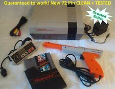 Nintendo NES Original Console System SUPER MARIO Refurbished + Tested NEW 72 PIN