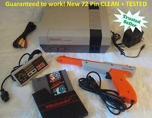Nintendo NES Original Console System SUPER MARIO Refurbished + Tested NEW 72 PIN