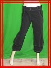 MADO ET LES AUTRES T 38  pantacourt corsaire  noir black trousers pants hose