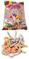 Trolli Brite Crawlers 2kg Bag  Sour Lollies Sweets Candy Party Favor Bulk Fresh