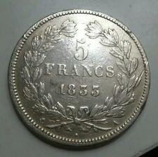 FRANCE - Monnaie 5 francs argent type Louis Philippe 1833 A (Paris)