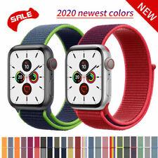 Apple Watch Sport Armband Series 5/4/3/2/1 Nylon Band 38/40/42/44mm Ersatz Loop