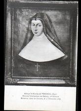 VERNEUIL-sur-AVRE (27) Mme SCHOLASTIQUE DE MEDAVY ,ABBESSE à l'ABBAYE ST-NICOLAS