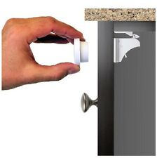 Baby Magnetic Cabinet Child Safety Locks - Baby Proof & Easy to Install - No ...