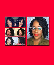 EXCLUSIVE! Faux locs dread lock wavy sister locs Lace Front Wig Poetic Justice