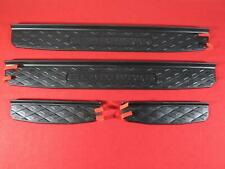 JEEP GLADIATOR Black Plastic Door Guard Sills NEW OEM MOPAR