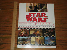 LUCAS BOOKS-Star Wars The Making Of Episode I The Phantom Menace Paperback Movie