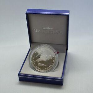 RARE Coffret BE 100 Francs 1992 - Albertville Jeux Paralympiques - Argent MDP