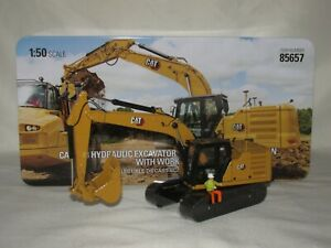 Diecast Masters ~ Caterpillar CAT 323 Excavator (Next Gen) with Work Tools 85657