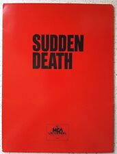 SUDDEN DEATH  - Home Video Press Kit (1996)