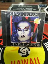 Klaus Nomi - Simple Man New Made in Germany    ND74422