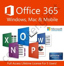 MICROSOFT Office 365 2016 abbonamento a vita-Windows & Mac & mobile!