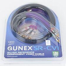 QED Qunex SR-CV1 Component Video o. Digital-Kabel 1,0m EAN 892 (B478)